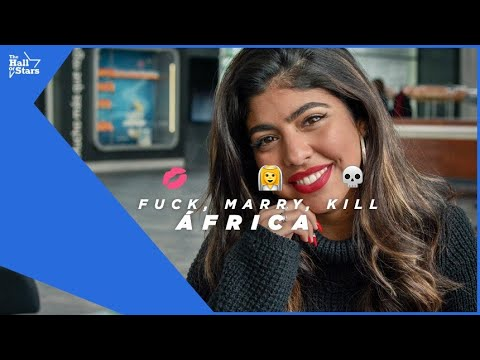 """Jugando con ÁFRICA (OT 2018) a """"FUCK MARRY KILL""""   The Hall Of Stars"""