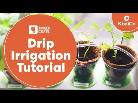 Make a Drip Irrigation System - Tinker Crate Project Instructions