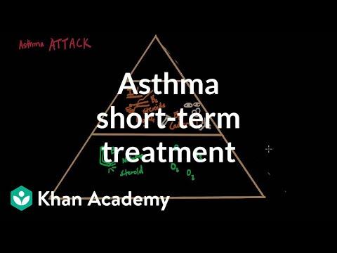 Asthma shortterm treatments | Respiratory system diseases | NCLEX-RN | Khan Academy