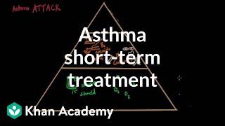 asthma shortterm treatments respiratory system diseases nclex rn khan academy