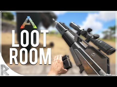 FOUND THE LOOT ROOM! - Let's Play Ark Survival Evolved (PVP Gameplay S7P36)