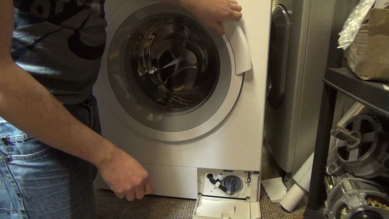 How To Release The Door In Power Fail On Bosch Logixx Washing Machine Youtube