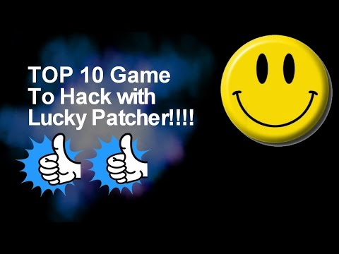 Top 10 Game To hack With Lucky Patcher (2018)