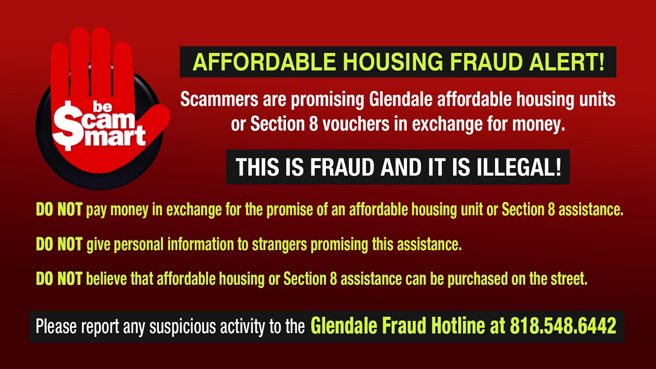Affordable Housing Fraud Alert - English - YouTube