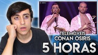 5 HORAS A OUVIR CONAN OSÍRIS - TELEMÓVEIS EM DIRETO