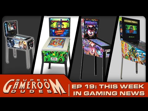 Arcade1Up, AtGames, Well Played Arcade, Toy Shock News AND MORE!   SGRD Ep: 19 from PDubs Arcade Loft