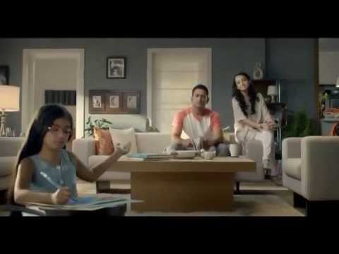 Anushka Sen with MS  Dhoni in Orient Electric TVC