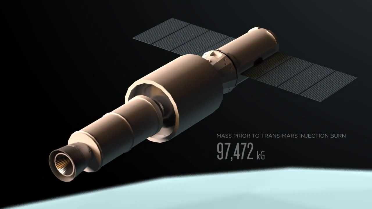 Mars 2018 Spacecraft Design Proposal Youtube