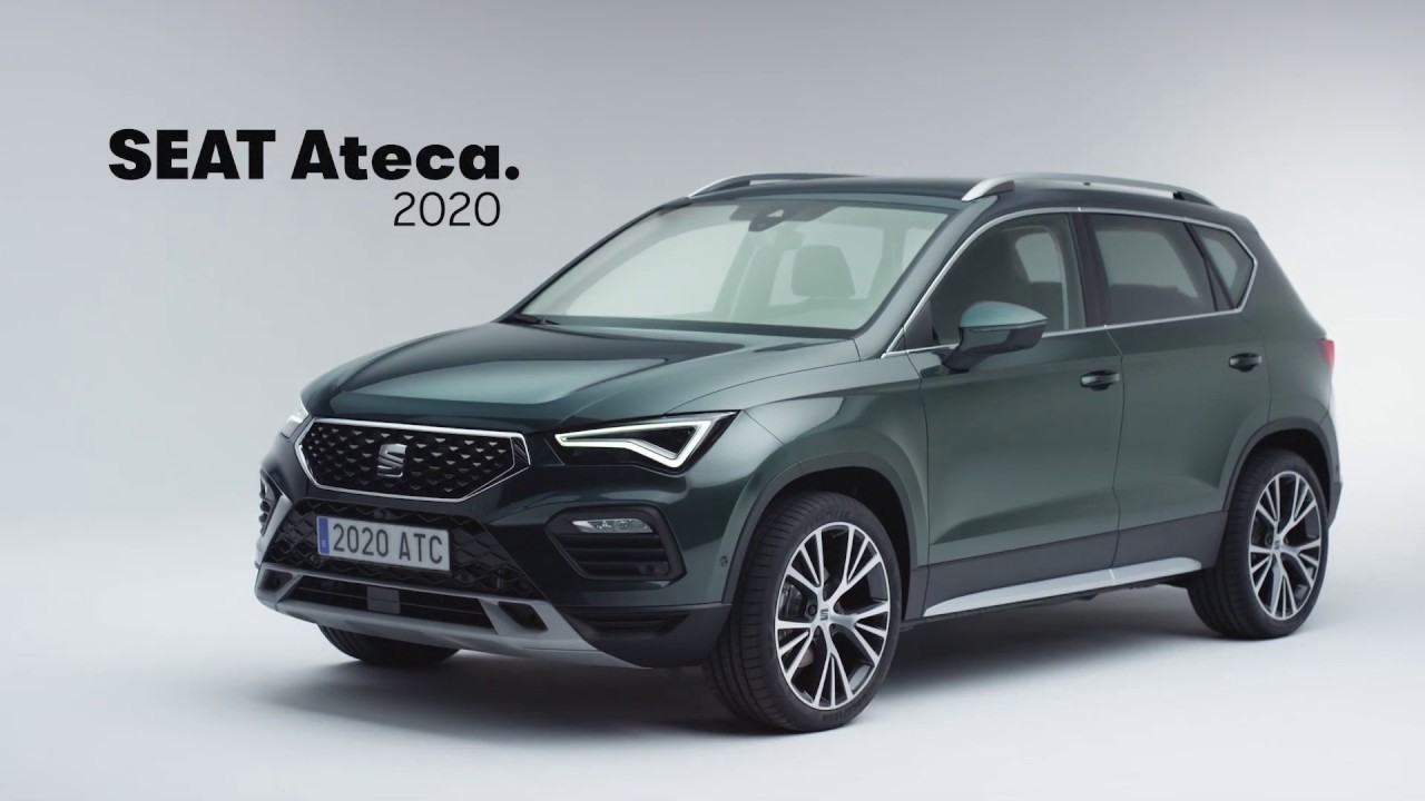 First Look 2021 Seat Ateca Facelift Youtube