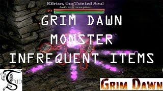 Grim Dawn - Monster Infrequent Items