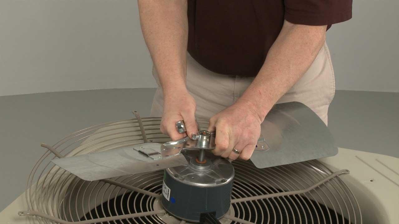 Payne Air Conditioner Condensing Unit Fan Blade #LA01RA222  YouTube