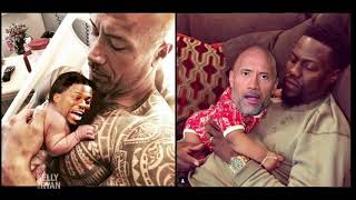 Dwayne Johnson on His Daughter's Birth & Getting Trolled by Kevin Hart