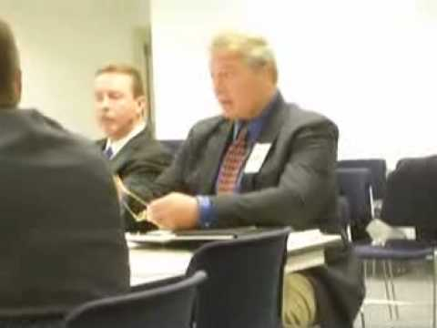 NYSAC hearing on legalizing MMA - 11-12-08