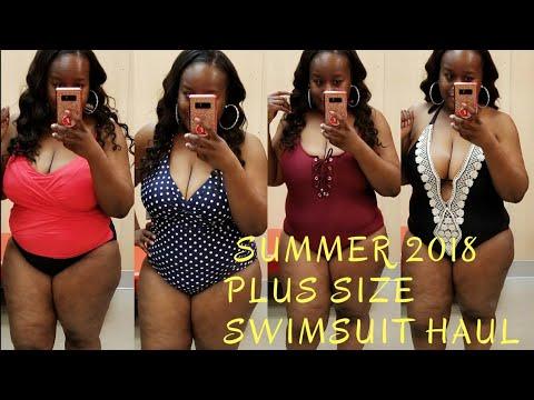194c7e9b4f663 Plus Size Swimwear / Try on Haul - YouTube