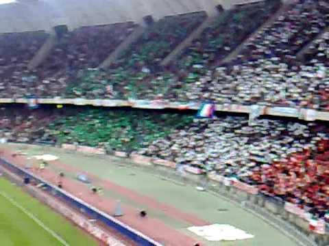 Fratelli d'Italia, San Nicola Stadium, Bari, Italy. 1at April 2009