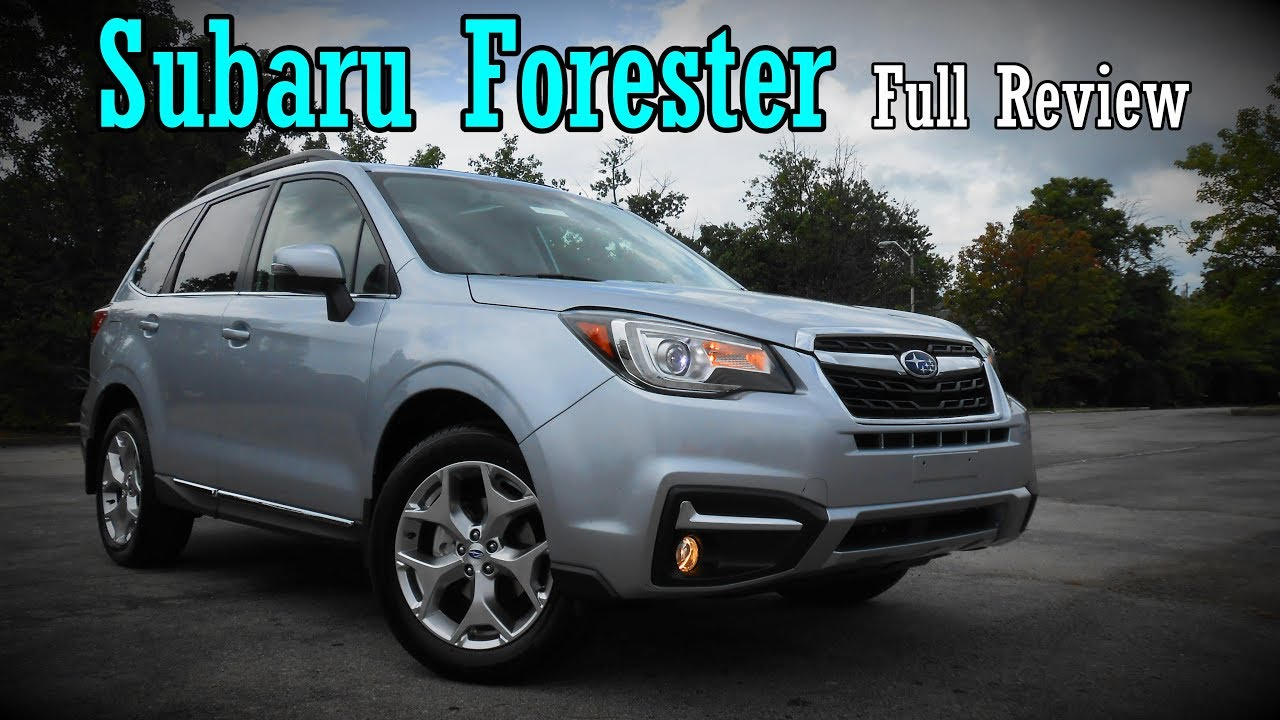 Forester Vs Outback >> 2018 Subaru Forester: Full Review | XT & 2.5i | Touring, Limited & Premium - YouTube