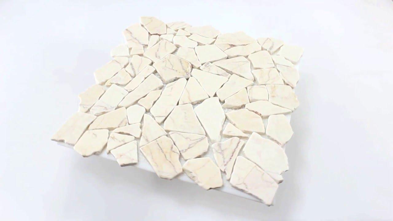 Bezaubernd Remo Fliesen Foto Von Mosaikfliesen Bruch Marmor Mosaik Golden Cream Hannover