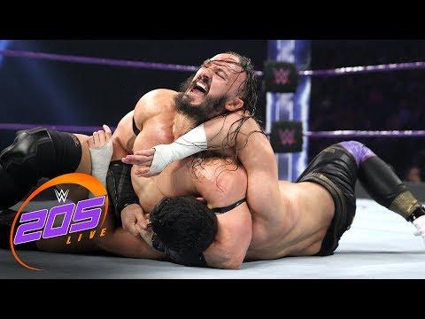 Neville vs. TJP - WWE Cruiserweight Championship Match: WWE 205 Live, June 6, 2017