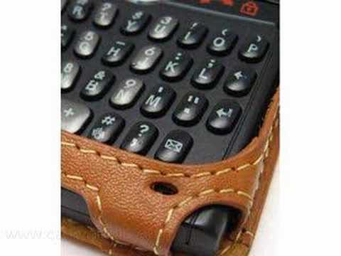 CarryMobile Deluxe Leather Case for Samsung BlackJack SGH-i6