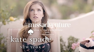 "#missadventure episode 2:"" the great escape"", starring anna kendrick"