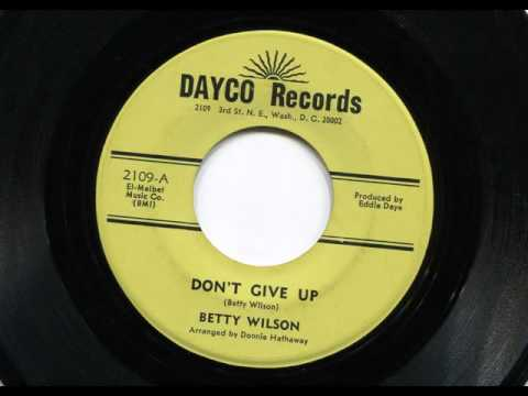 BETTY WILSON - Don't give up - DAYCO