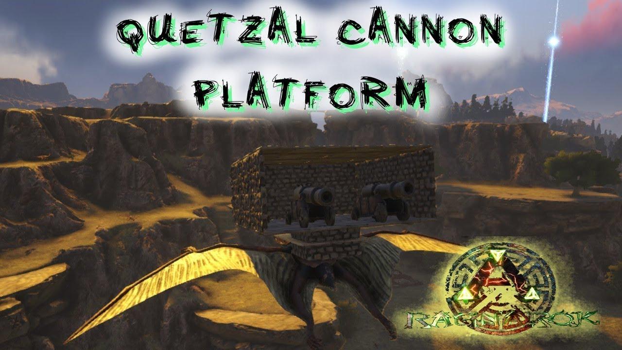 Ark ragnarok tdz evolved quetzal cannon platform s2e60 youtube ark ragnarok tdz evolved quetzal cannon platform s2e60 malvernweather Image collections
