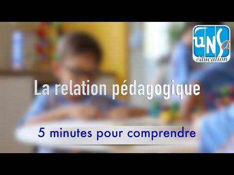 La relation pédagogique - Florence Lhomme
