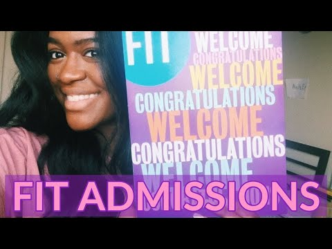 Frank Mitchell on FIT Admissions