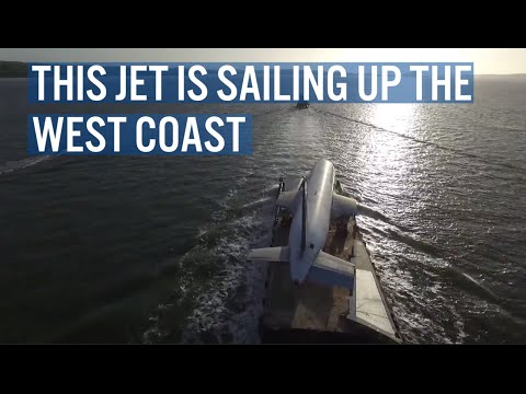This Jet Sailed Up The West Coast of Ireland