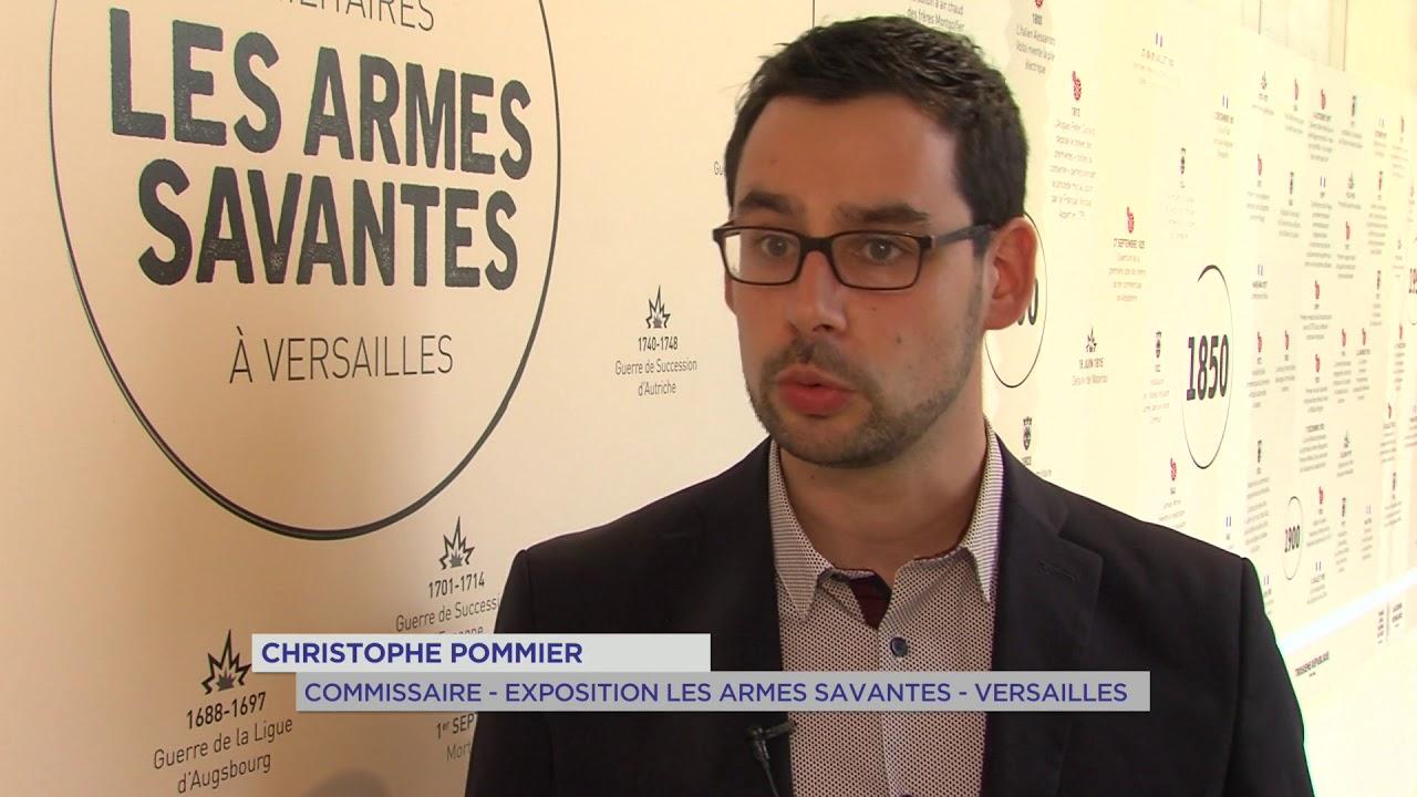 Versailles : Découverte de 350 ans d'innovation militaire à l'espace Richaud