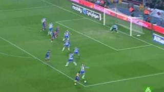 Barcelona vs Espanyol (1-2) 21/02/2009 Lasexta- Touré - De La Peña (2)
