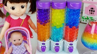 Baby Doll and Orbeez food maker toys pororo cake play 아기인형 오르비즈 케이크 메이커 뽀로로 장난감놀이 - 토이몽