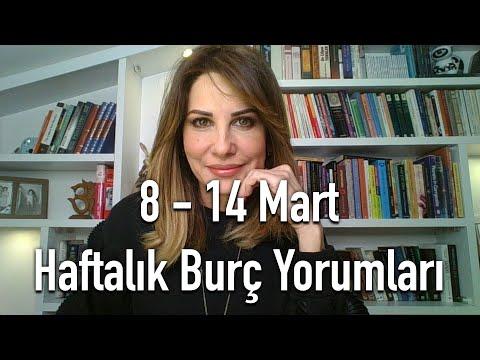 08 - 14 MART HAFTALIK BURÇ YORUMLARI - Hande Kazanova ile Astroloji