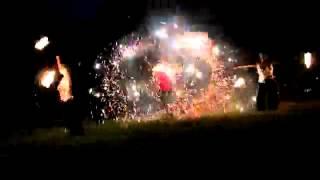 Портфолио: Фаер шоу на свадьбу Минск