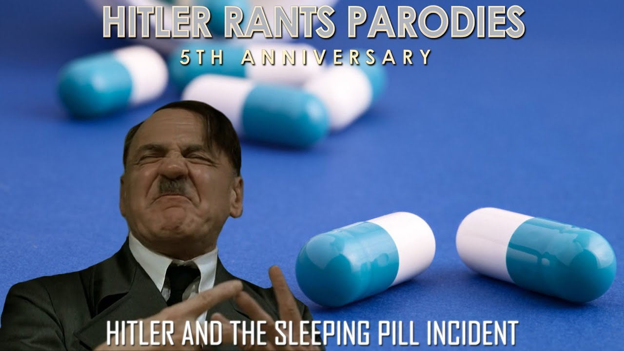 Hitler and the sleeping pill incident