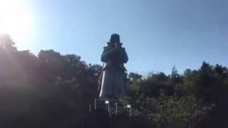 熊本県 天草四郎時貞の石像の動画です。