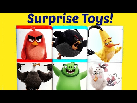 Angry Birds Movie Toy Surprise Blind Boxes Tnt Invasion