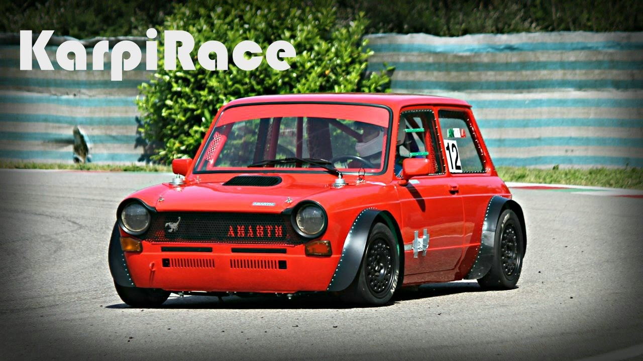 Autobianchi A112 Abarth Race Car - YouTube