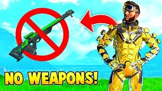 Winning Apex Legends with NO WEAPONS! (Funny Moments #9)