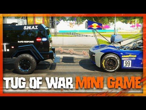 TUG OF WAR IN FORZA? (Forza Horizon 4 Funny Moments) thumbnail