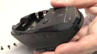 Разломай-ка: Ремонт мыши Logitech M705 - замена кнопки с дребезгом контактов