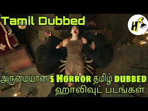 5+5 Best Horror Tamil Dubbed Hollywood Movies You Should Watch | Tamil - Hollywood Tamizha