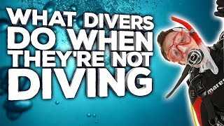 What Divers Do When They're Not Diving
