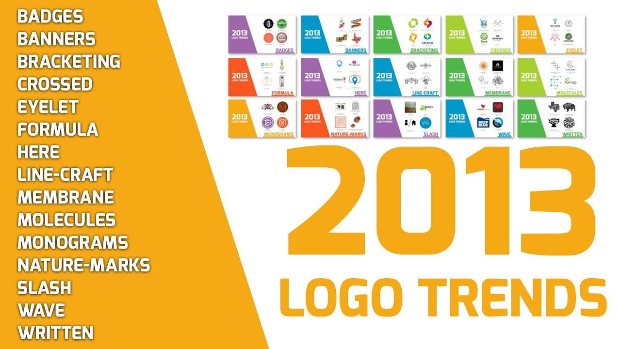 2013 Logo Design Trends Inspiration