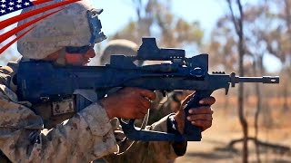 FAMAS Rifle Shoot & Live Fire Drills : US Marines & French Army - FA-MASライフル射撃と戦闘訓練・米海兵隊&仏陸軍