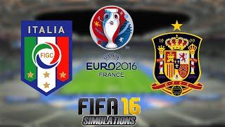 FIFA 16 - EUROCOPA 2016: Itália X Espanha