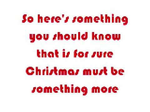 Letra Christmas Must Be Something More Taylor Swift De Cancion