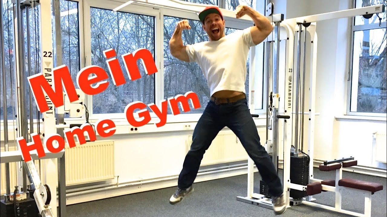 Home gym selber bauen  Mein Home Gym - Was man wirklich zum Muskeln aufbauen braucht ...