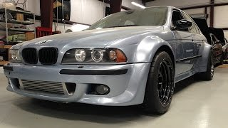 800 HP 2JZ-Swapped Wide Body BMW E39 M5 By Technica Motorsports - One Take