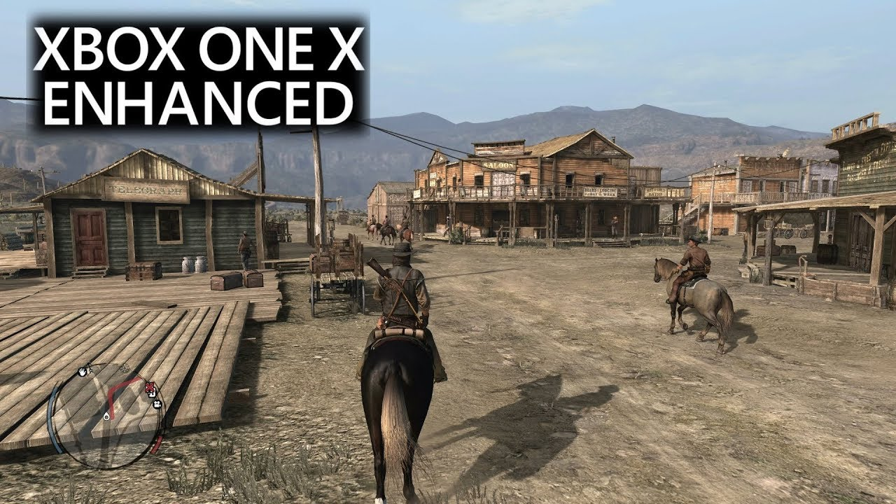 Red Dead Redemption - Xbox One X Enhanced Gameplay | Backwards  Compatibility (2160p)